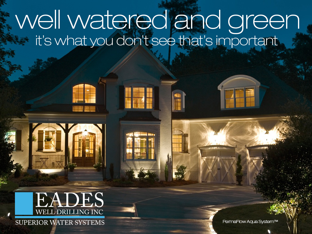 EADES WELL DRILLING Superior Water Systems PermaFlow Aqua System