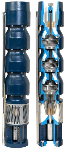 EADES WELL DRILLING COMMERCIAL SUBMERSIBLE PUMP