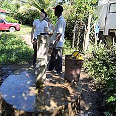 EADES WELL DRILLING Haitian Support Program Safe Drinking Water Zabitant 1 Well
