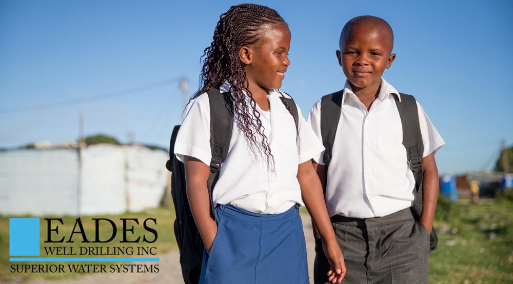 EADES WELL DRILLING Haitian Support Program Safe Drinking Water Zabitant 1 Well School Children