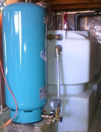 EADES WELL DRILLING Well Water Pump and Pressure Tank Systems Residential Large Pressure Tank With Low Yield Reservoir
